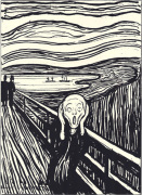 The Scream (silkscreen print)