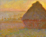 Grainstack (Sunset) 1891