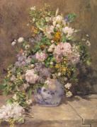 Spring Bouquet, 1866 by Pierre Auguste Renoir