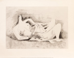 Drawing for Figure in Metal or Re-inforced Concrete, 1931 by Henry Spencer Moore