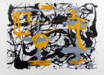 Yellow, Gray, Black, 1948 by Jackson Pollock