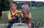 Farmer and his wife by Gerd Pfeiffer