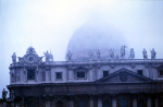 St Peters, Rome, in the fog by Gerd Pfeiffer