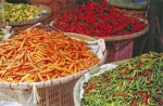 Chilli peppers by Rosseforp
