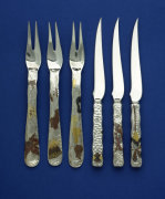 Three Forks & Three Knives by Tiffany Studios