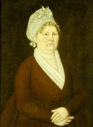 Hanna Voss, Kittery, Maine, Circa 1795 by John Brewster