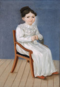 Portrait Of A Little Girl by William S. Doyle