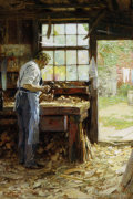 Village Carpenter by Edward Henry Potthast