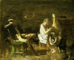 Study For Courtship by Thomas Cowperthwait Eakins