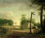 Wayside Inn On Route To Philadelphia by Thomas Birch