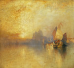Opalescent Venice by Thomas Moran