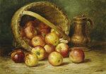 A Basket Of Apples by August Laux
