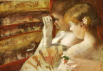 In The Box by Mary Cassatt