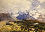 The Simplon, 1910. by John Singer Sargent