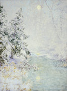 Winter Sun by Walter Launt Palmer