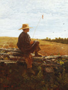 On Guard, 1864. by Winslow Homer
