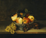 Still Life With Crystal Compote by Rubens Peale