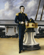 Portrait Of A Naval Officer by William Charles Anthony Frerichs