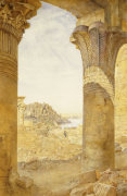 Among The Ruins, 1893 by Henry Roderick Newman