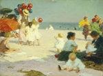 On The Beach by Edward Henry Potthast