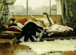 Sarah Bernhardt, 1883 by Julius Leblanc Stewart