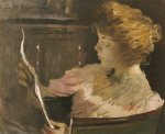 Jesse Steele Reading by John White Alexander