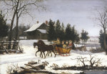 Sleigh Ride by Thomas Birch