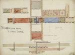 Florence, San Miniato, Studies of Decorative Ceiling Panels, 1891. by Charles Rennie Mackintosh