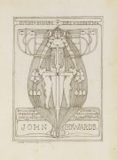 Design for a Bookplate, 1896 by Margaret Macdonald Mackintosh