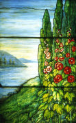 Lake Scene Window by Tiffany Studios