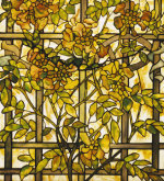 Trumpet Vine Window by Tiffany Studios