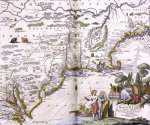 Map Of The New World. John Ogilby, 1671 by Christie's Images