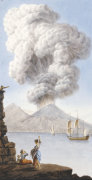 Eruption Of Vesuvius From 'Observations On The Two Volcanos Of The Two Sicilies' by Sir William Quiller Hamilton