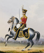4th (The Queens Own) Light Dragoons from 'Officers Of The British Army', 1833 by Christie's Images