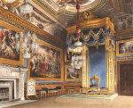 The King's Audience Chamber, Windsor Castle, 1819 by C. Wild