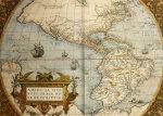 Map Of America From Theatrum Orbis Terrarum, Antwerp, 1573 by Abraham Ortelius
