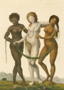 Europe Supported By Africa And America, C. 1796 by William Blake