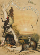 Title Page Of 'South Australia Illustrated', 1846 by Thomas Mclean