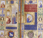 Annunciation.  Book Of Hours, Use Of Rome, In Latin, C.1500 by Christie's Images