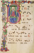 The Trinity, Antiphonary, In Latin, 1480 by Christie's Images