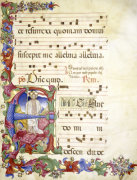The Resurrection, Antiphonary, Latin, 1480 by Christie's Images