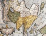 Asiae Nova Descriptio, Map Of Asia, 1612 by Abraham Ortelius