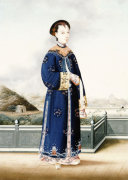 An Elegantly Dressed Chinese Hong Merchant's Wife by Christie's Images