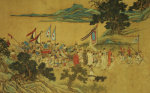 Foreign Tributaries En Route To China by Christie's Images