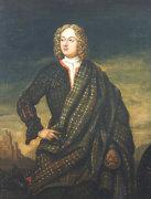Portrait Of Andrew Macpherson Of Cluny (1640-1666) by Richard Waitt