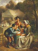 The Toy Seller by Francois Louis Lanfant de Metz