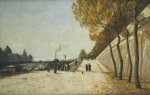 A View Of The Conciergerie, Paris, From The Right Bank Of The Seine by Christie's Images