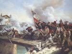 La Bataille Du Pont d'Arcole, 1826 by Emile Jean Horace Vernet