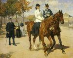 The Morning Ride, 1911 by Erik Henningsen