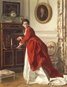 The Letter by Charles Baugniet